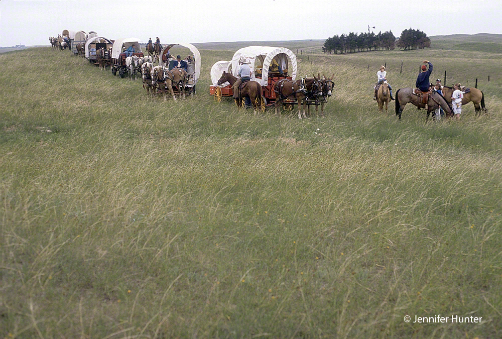 Web Colorado and Company KUSA Denver Channel 9 Jennifer Hunter wagon train 1